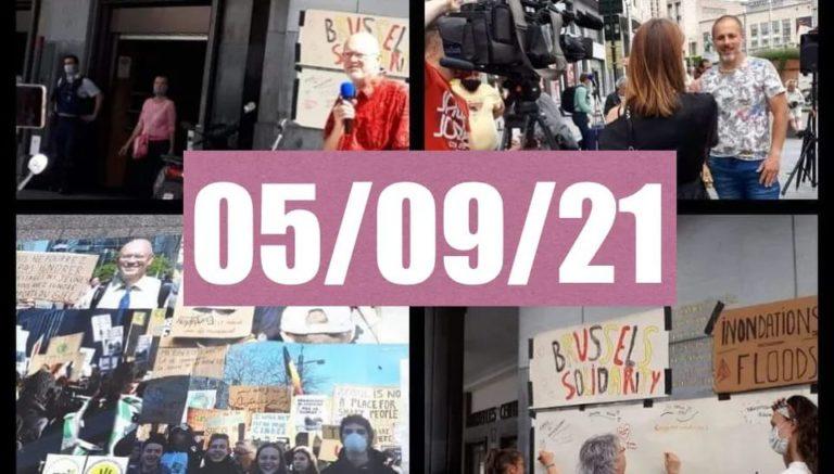 Read more about the article 5/09 – Rassemblement à Gare centrale de Bruxelles à 14h