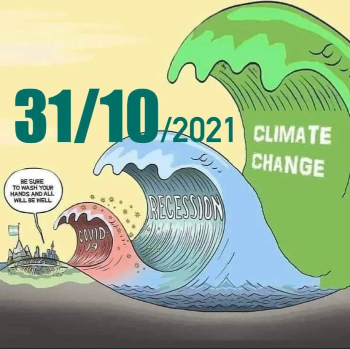 Read more about the article 31/10  COP 26 : Act for climate and clean water now!